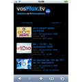 Des centaines d'émissions  télévisées disponibles sur l'iphone !