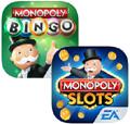 Deux nouveaux jeux de la marque Monopoly pour les iPhone et Android