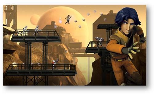 Disney Interactive annonce la sortie de l'application STAR WARS REBELS
