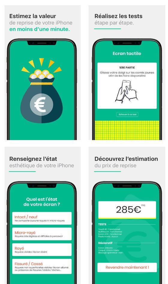 Estimez précisément le prix de reprise de votre iPhone grâce à une application