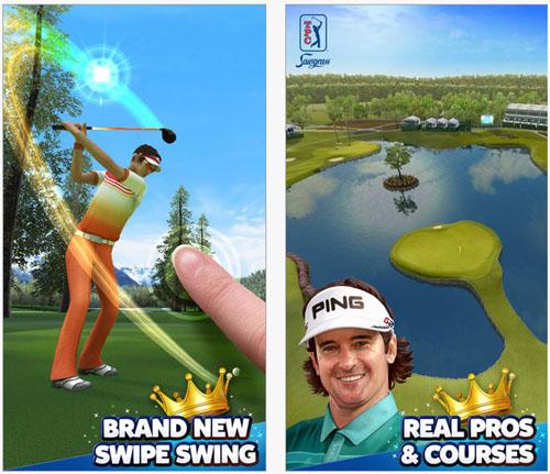 EA SPORTS PGA TOUR King of the Cours sur les plateformes mobiles