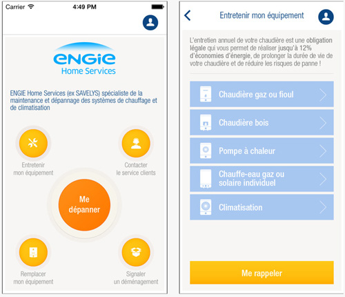 ENGIE Home Services lance sa première application mobile