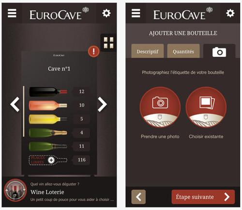 EuroCave lance son application mobiles et tablettes