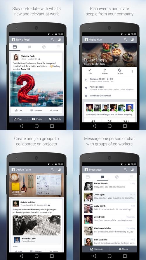 Facebook at Work : une version professionnelle va voir le jour