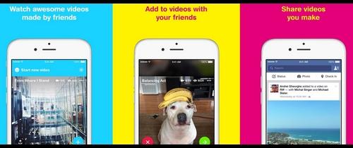 Facebook lance Riff, une application de partage de vidéos