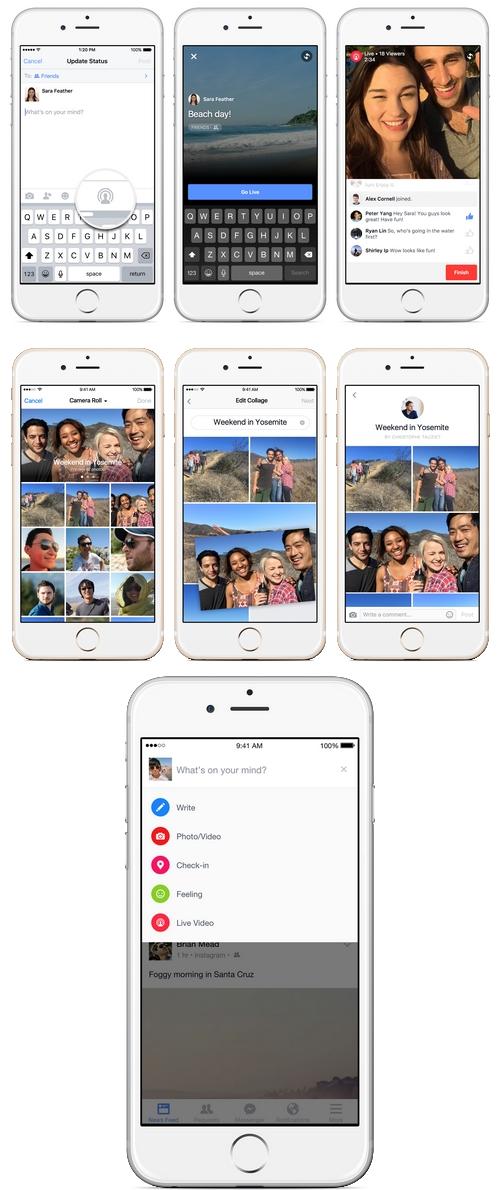 Facebook ajoute le live streaming pour les utilisateurs d'iOS
