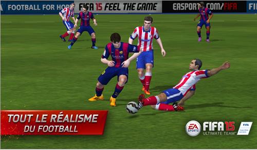 FIFA 15 Ultimate Team est disponible sur l'App Store, Google Play et Windows Phone
