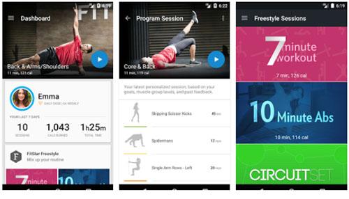 Fitbit : Fitstar, l'application est disponible sur Android