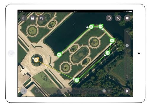 Flight Plan, une App pour créer des plans de vols autonomes d'un Bebop Drone