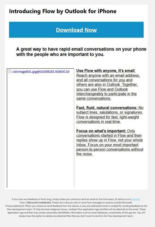 Flow : à mi-chemin entre une application de chat et un gestionnaire d'e-mail