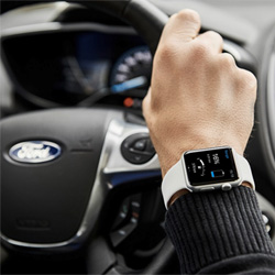 L'application MyFord Mobile pour montre connectée