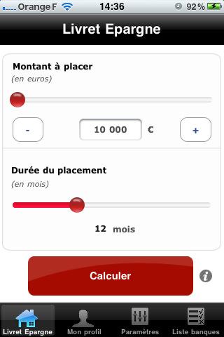 FranceTransaction.com présente le premier comparateur « Livret Épargne » sur iPhone