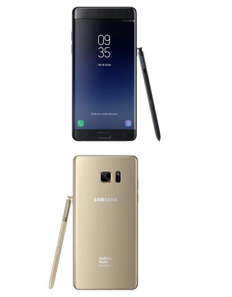Galaxy Note FE : la renaissance du Note 7 avec des différences notables