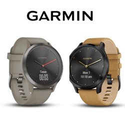 Garmin dévoile ses modèles vivomove HR et vivoactive 3 Music