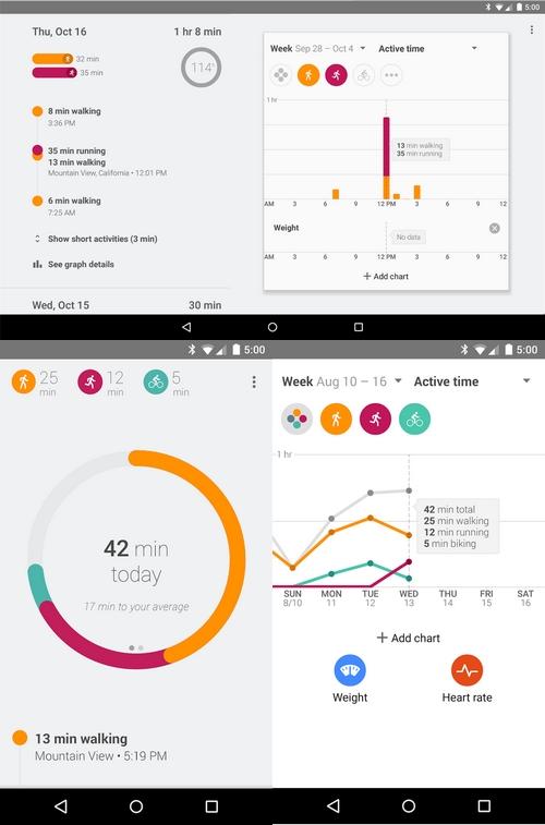 Google Fit : la nouvelle application santé de  Google concurrente d'Apple