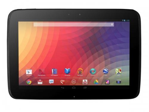 Google lance officiellement le Nexus 10