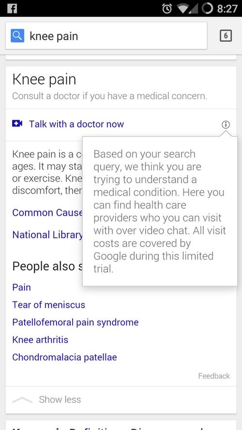 Google met en relation les internautes et les médecins en ligne