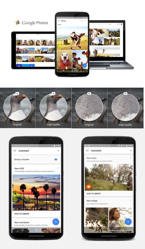 Google Photos : des vidéos créées automatiquement selon des thématiques