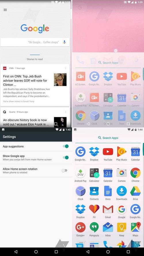 Google, prépare-t-il un lanceur d'application spécialement pour les Nexus ?