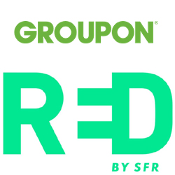 Groupon propose des codes promo Red by SFR