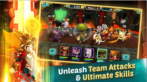 WAKFU Raiders est disponible sur les plateformes IOS et Android