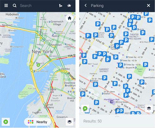 HERE WeGo, une application destinée à la mobilité urbaine