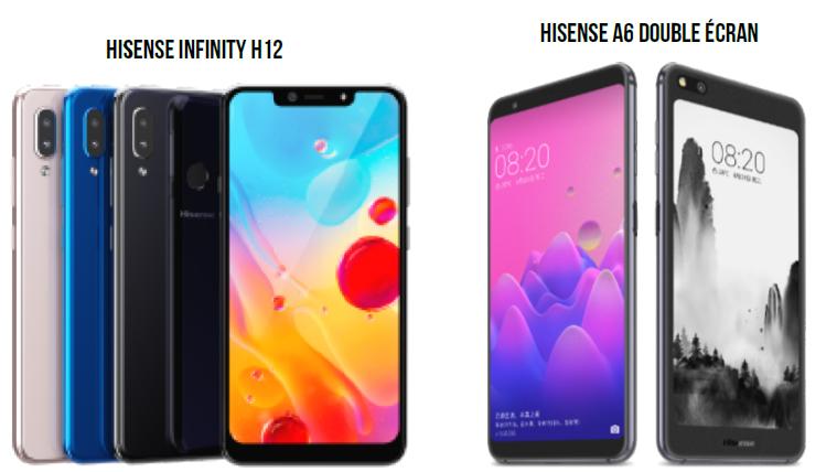 Hisense monte en gamme avec ses modèles Infinity H12 et A6