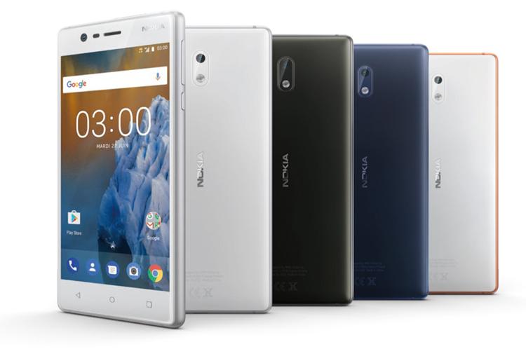 Nokia fait son retour en France avec les Nokia 3, 5 et 6 dès le mois d'août