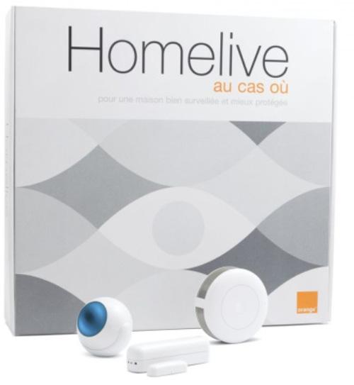 Homelive d'Orange  : une solution qui surveille sa maison via un mobile