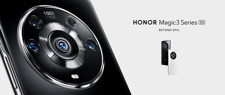 Honor revient sur le marché du smartphone premium avec les Honor Magic 3 et Pro