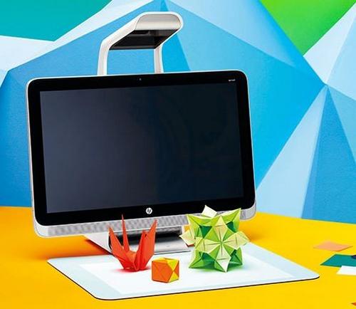 HP Sprout : la nouvelle génération d'ordinateur sans clavier ni souris
