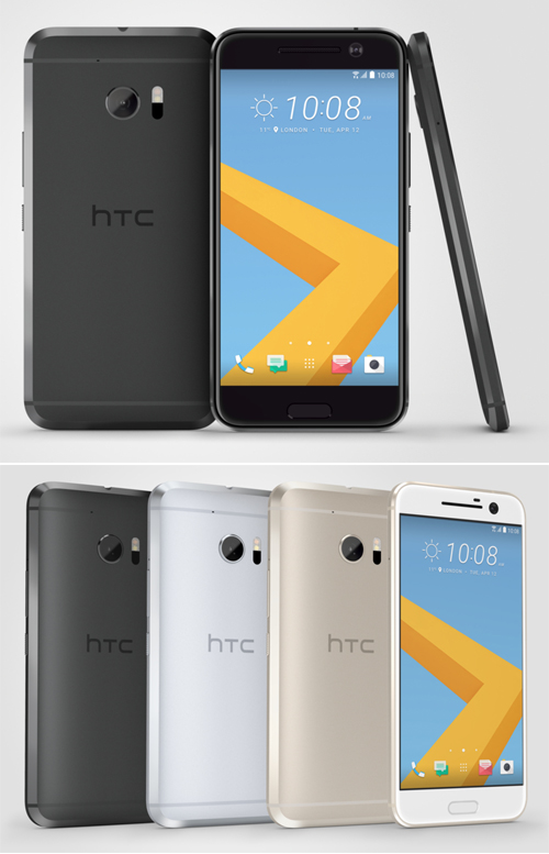 HTC 10, le nouveau concurrent de l'iPhone 6S et du Galaxy S7 ?