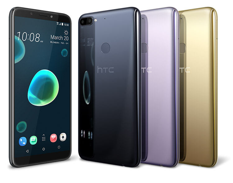 HTC dévoile les HTC Desire 12 et HTC Desire 12+
