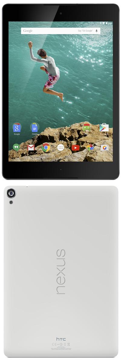 HTC Nexus 9 : la première tablette sous Android Lollipop
