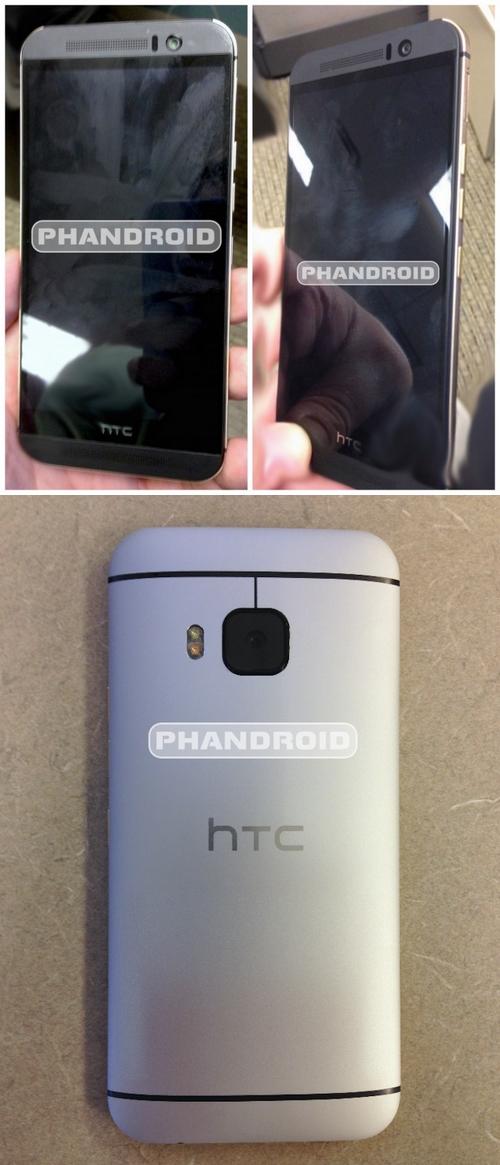 HTC One M9 : des clichés du terminal font apparition sur la toile