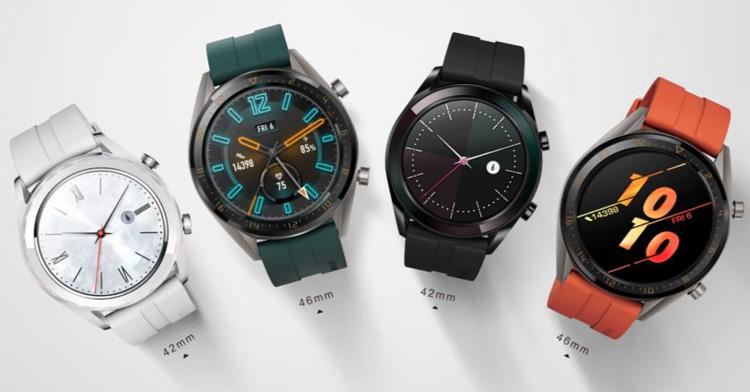 Huawei lance deux nouvelles versions de sa montre Huawei Watch GT