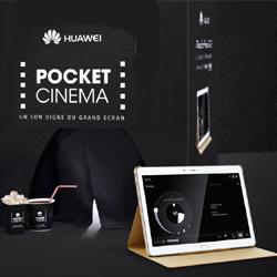 "Huawei lance la tablette MediaPad M2 avec le ""Pocket Cinema"""