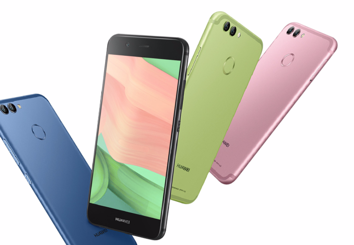 Les Huawei Nova 2 et Nova 2 Plus : des selfie-phones ?