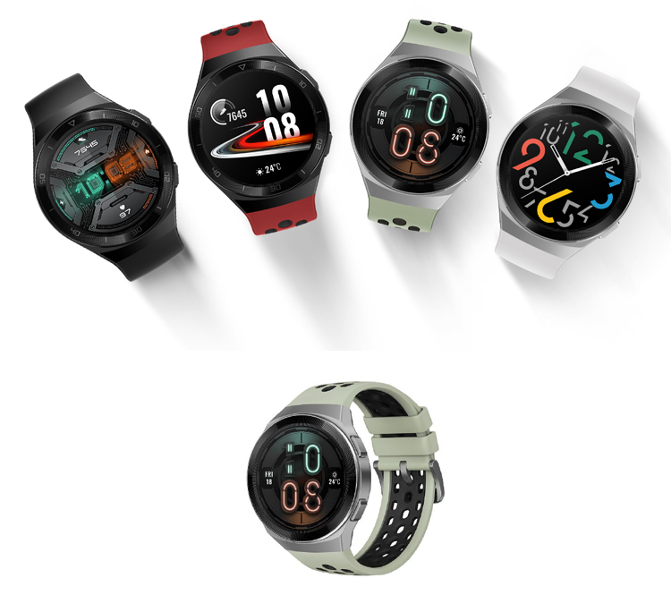 Huawei lance sa version Watch GT 2e avec 100 modes d'entraînement