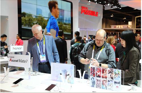 Huawei lance une offre mobile intégrée lors du salon CES 2015