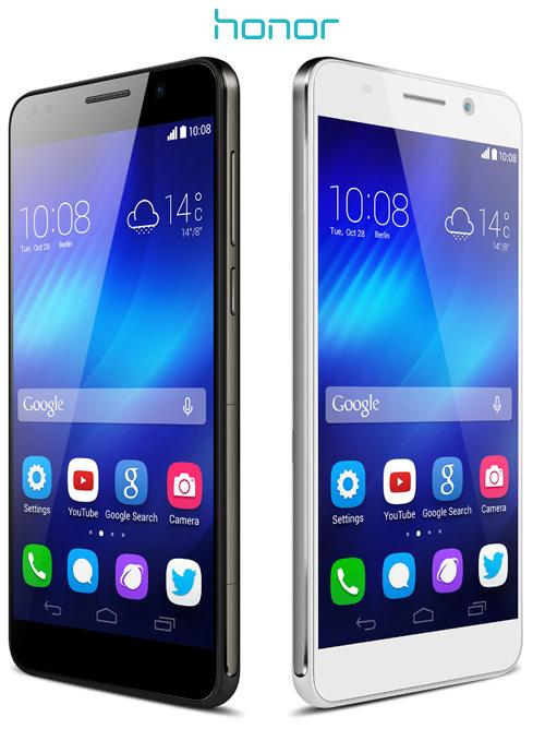 Huawei : le smartphone Honor 6 arrive en Europe