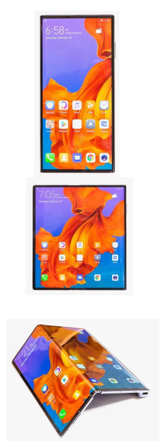 Huawei révèle son premier smartphone à écran pliable 5G : le Huawei Mate X