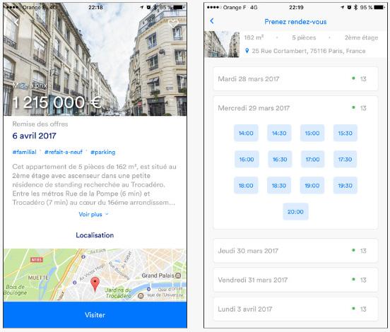 IMOXO App : une application qui gère en totalité la vente d'un bien immobilier