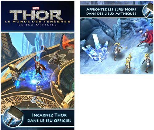 Incarnez Thor, le dieu du tonnerre sur iPhone