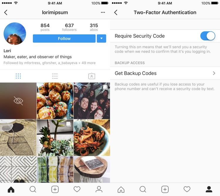 Instagram met du flou sur les photos et vidéos sensibles