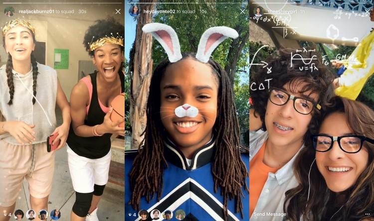 Instagram s'approprie une nouvelle fonction de Snapchat avec les Face filters