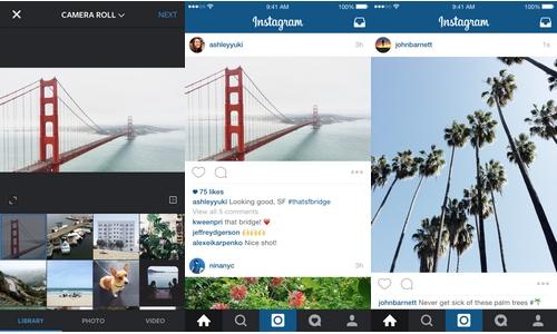 Instagram n'impose plus le format carré pour les photos