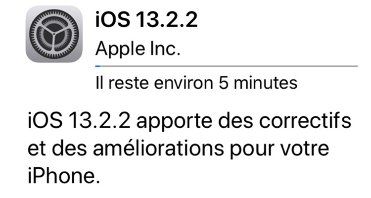 iOS 13.2.2 : le bug du multitâche est corrigé