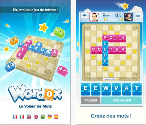IsCool Entertainment lance sur mobile sa version jeu de société Wordox