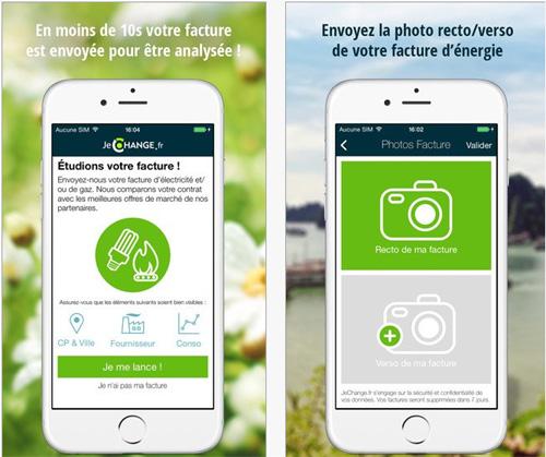 JeChange.fr : une application pour faire des économies sur ses factures